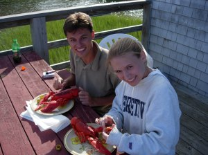 Turns out, we both Do like lobster!