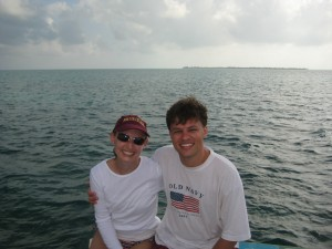 Me and The Husband, vacationing in Belize!